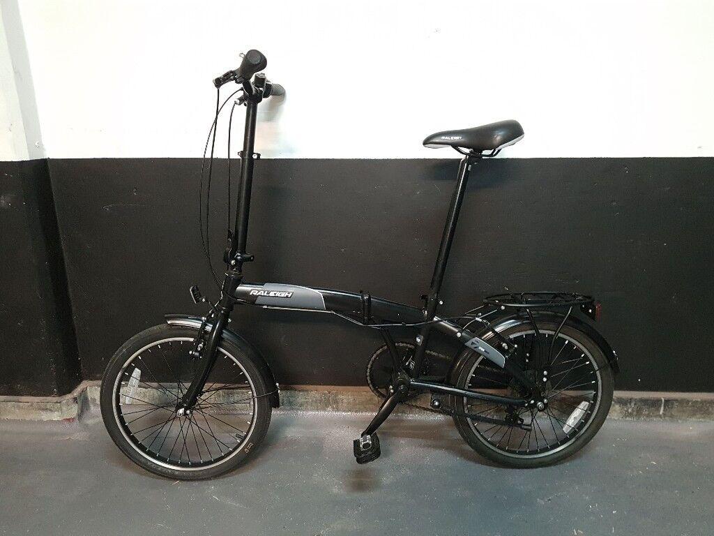 Raleigh Stowaway Folding Bicycle In Marylebone London