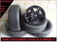"2384 Genuine 19"" Land Range Rover Evoque Discovery Sport Alloy Wheels & Tyres"