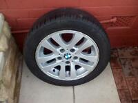 BMW 3 Series Alloy Wheel With Tyre for Spare.