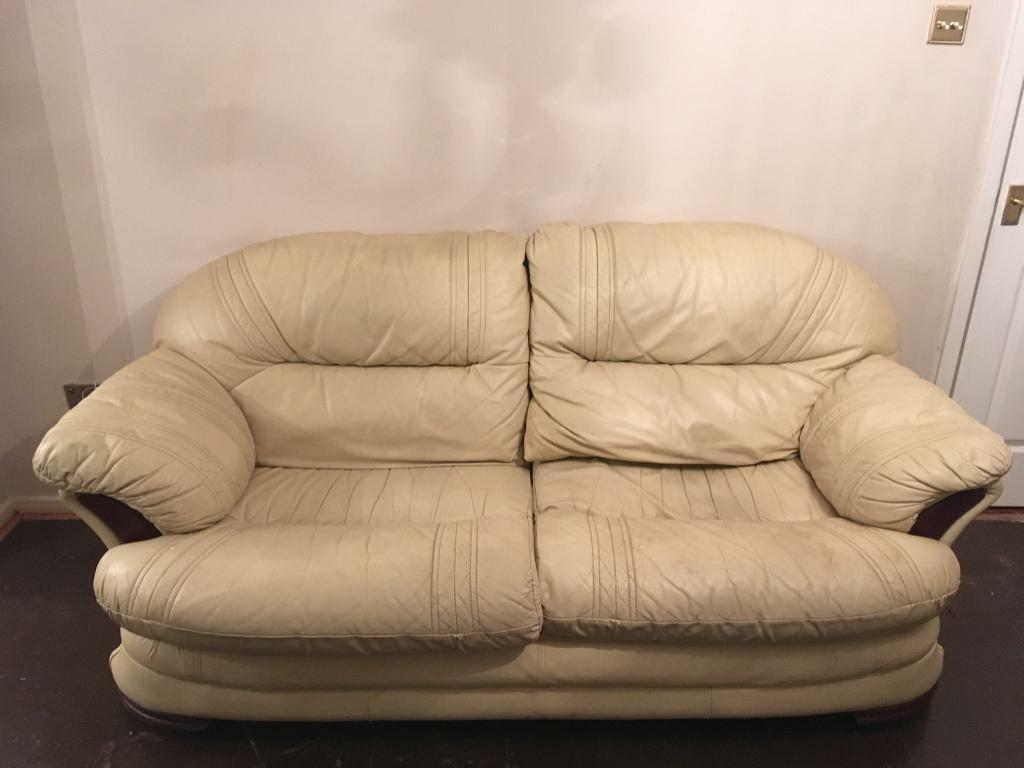 3 Piece Leather Suite In Stirchley Shropshire Gumtree