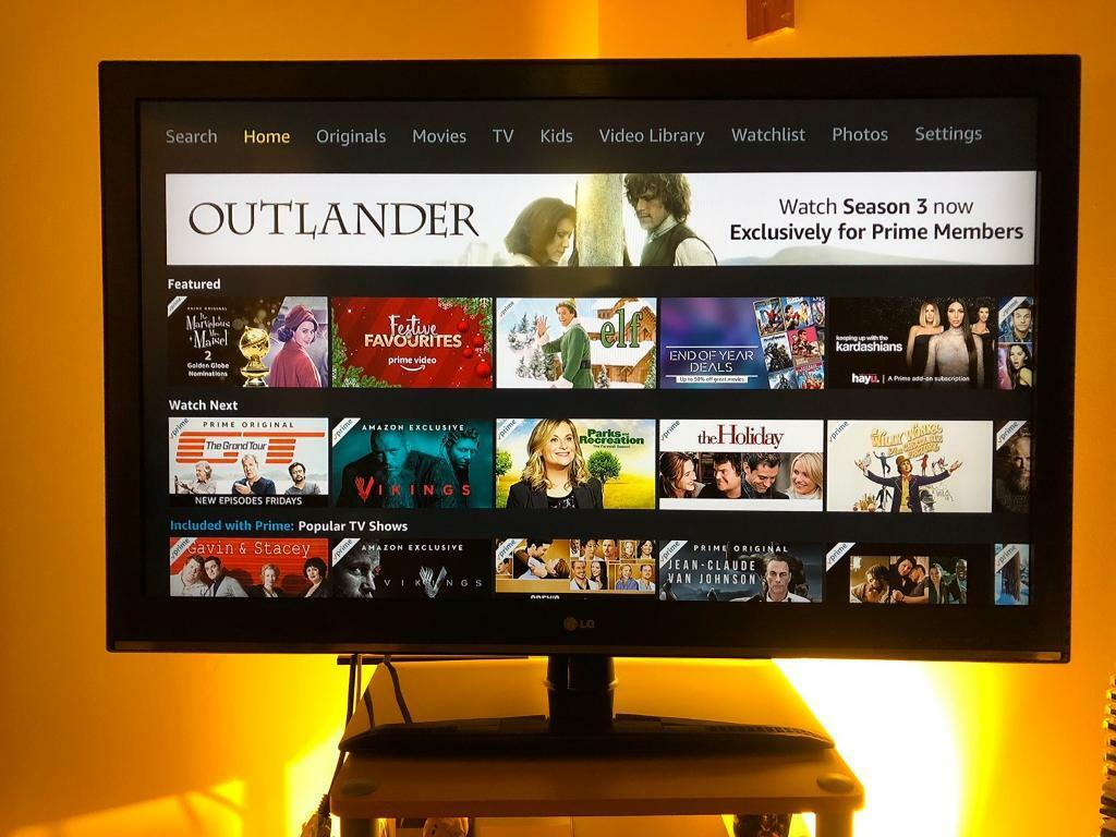 """LG 42"""" 1080p HD TV (with free stand)"""