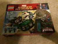 Lego Super Hero Spider-Man Spider Cycle Chase