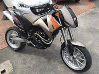 2001 KTM Duke II LC4 640cc Motorcycle
