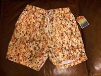 Popcorn print shorts BNWT