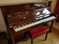 Moutrie upright piano -perfect condition