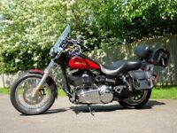 Harley Davidson Dyna 2010 FXDC Low mileage. Factory paint scheme. Like new condition