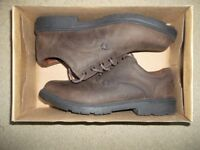 Mens Clarks Leather Shoes UK8.5 G