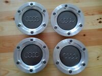 Audi branded wheel caps (set of 4 OEM aftermarket) taken off 2001 Audi TT mk1