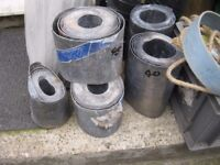Rolls Of Lead For Sale. (Pictures May Not Be Up To Date) All Different Sizes Available *Prices Vary
