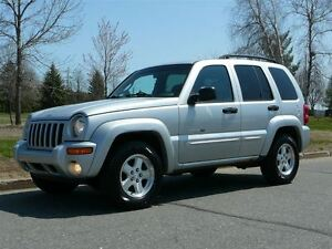 2003 Jeep Liberty Limited Edition 4X4 AWD CUIR, TOIT OUVRANT