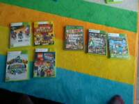 7 xbox 360 games all work perfectly