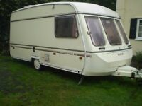 swift touring 2 berth caravan
