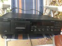 Yamaha kx-390 cassette deck