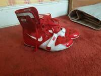 Boxing boots. Pac mans boots