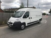 NO VAT!! Peugot Boxer LWB Van. Ready For Work.