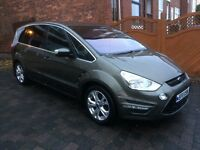 Ford S Max in Metallic Green and a full service history