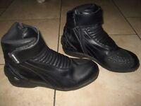 Spada waterproof motorcycle boots size 11 eu 46