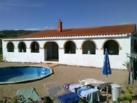 Private villa in Zarra (Spain) for holliday 50,- euros a day