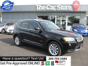 2013 BMW X3 xDrive35i - HTD LEATHER back cam PUSH START 1owner