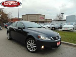 2012 Lexus IS 250 CLEAN CAR PROOF-LEATHER ROOF