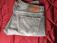 FOR SALE 1 PAIR OF GENTS 514 LEVI DENIMS