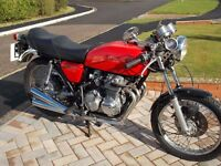 Honda CB 400/4 1977 re-commissioned after 6 year dry garage lay up