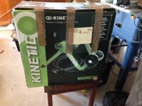 Kinetic cycle turbo trainer, hardly used