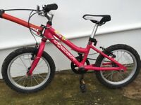 Ridgeback Melody 16 Girls Bike 16 Inch Wheels. Great Condition.