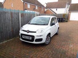 FIAT PANDA NEW SHAPE service history mostly motorway miles can be veiwed in woodford if in LONDON
