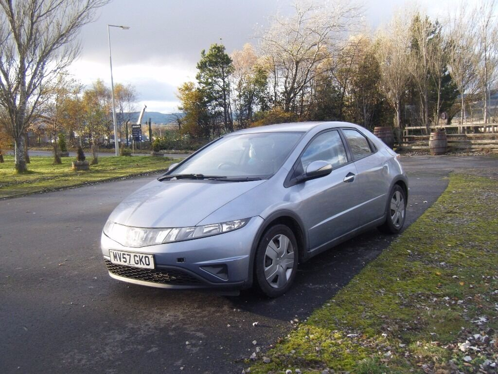 2007 57 NEW SHAPE HONDA CIVIC 1.4 NEW MOT 1 OWNER NEW CLUTCH DRIVES SUPERB