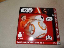 Star Wars Radio Control Inflatable BB-8 (NEW)