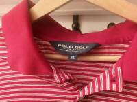 Ralph Lauren (genuine) polo striped t shirt - size XL