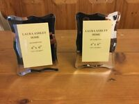 Laura Ashley glass mirror picture frames