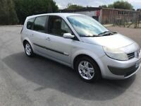 2005 Renault grand scenic 1.9 dci 7 seater 12 months mot/3 months parts and labour warranty