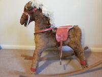 Rocking Horse, antique rocking horse, much loved