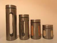 4 Storage jars