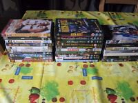 27 Assorted DVDs - all in Excellent Condition, in a wide range of Film Genres