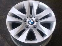 "17"" Genuine BMW 3 Series E90 F30 Alloy Wheel 5x120 Full Size Spare"
