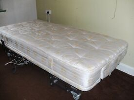 adjustable single bed - electric