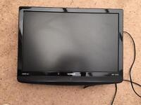 """22"""" Technika tv with built in DVD player"""