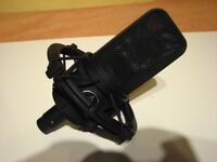 Audio Technica AT4040 Cardioid Condenser Studio Microphone with Gig Bag.