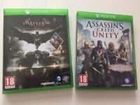Two Xbox one games