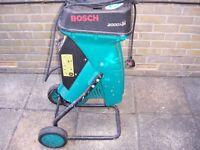 Bosch 2000AXT HP Garden Shredder