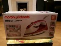 New morphy richards ceramic steam iron