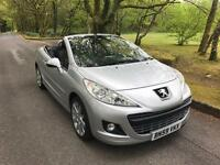 ***PEUGEOT 207 CONVERTIBLE 2009 ONLY 29,000 MILES***