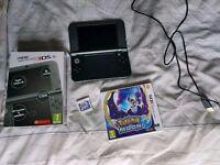 Nintendo 3DS XL New Model & Pokemon Moon & Charger