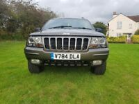 Jeep grand cherokee 4.7 v8 QUADRA-DRIVE sport and luxury suv