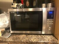 Sharp Microwave Oven Grill Convention Oven 1000w Large