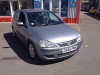 55 Vauxhall Corsa 1.2 SXI, 95,000 miles, We are open 7 days, Part ex welcome on all cars.