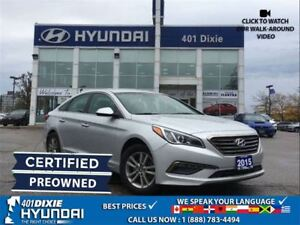 2015 Hyundai Sonata GL|BACK-UP CAM|HEATED SEATS|CERTIFIED PRE OW